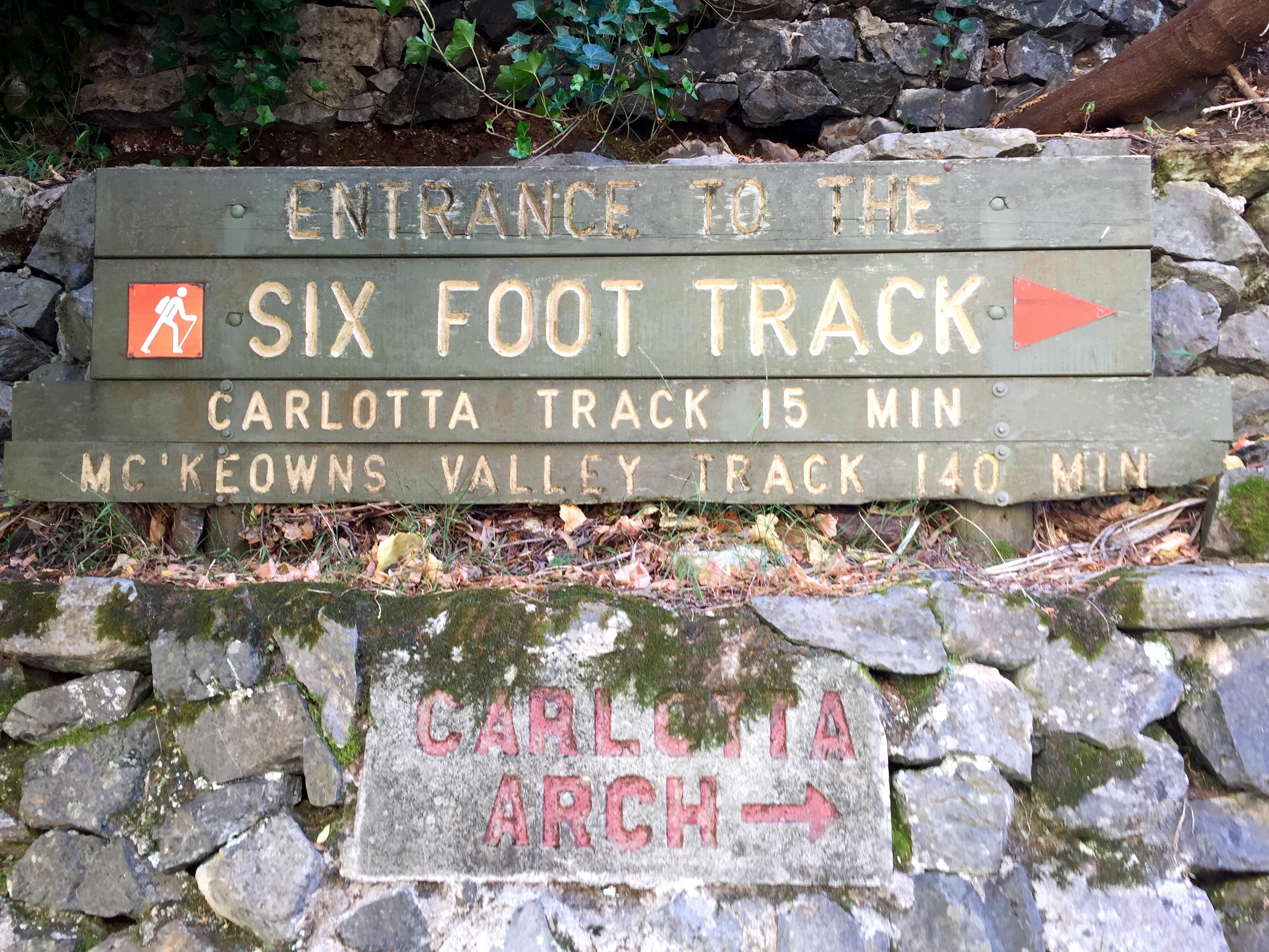 Six Foot Track